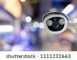 cctv with blur background | Shutterstock . vector #1111232663