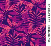 concept tropical leaves... | Shutterstock .eps vector #1111248503
