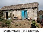 dwelling in the sao nicolau... | Shutterstock . vector #1111306937