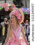 funchal  madeira  portugal  ... | Shutterstock . vector #1111345457
