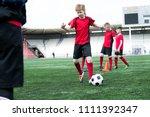 full length portrait of junior... | Shutterstock . vector #1111392347