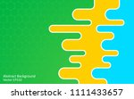 abstract vector background with ... | Shutterstock .eps vector #1111433657