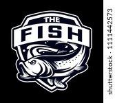 fish sport logo   Shutterstock .eps vector #1111442573