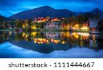 dramatic and picturesque scene... | Shutterstock . vector #1111444667