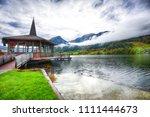 fantastic views of the lake.... | Shutterstock . vector #1111444673