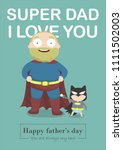dad you will always be my hero | Shutterstock .eps vector #1111502003