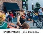 may 13  2018 minsk belarus... | Shutterstock . vector #1111531367