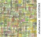 seamless bright abstract mosaic ... | Shutterstock . vector #1111535363