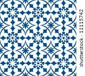 ornamental baroque pattern | Shutterstock .eps vector #11115742