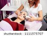 ultrasonic skin scrubber... | Shutterstock . vector #1111575707