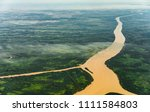 landscape aerial view of... | Shutterstock . vector #1111584803