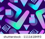 liquid color shape seamless... | Shutterstock .eps vector #1111618493