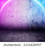 metallic interior background... | Shutterstock . vector #1111626947