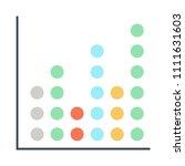 graph vector icon   Shutterstock .eps vector #1111631603