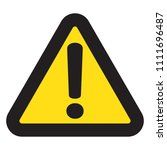 danger sign  danger icon | Shutterstock .eps vector #1111696487