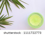natural herbal soothing gel... | Shutterstock . vector #1111722773