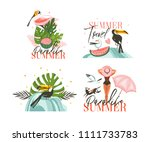 hand drawn vector abstract... | Shutterstock .eps vector #1111733783