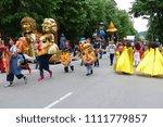 gabrovo  bulgaria may 19  2018. ... | Shutterstock . vector #1111779857