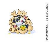 vector isolated emoji character ... | Shutterstock .eps vector #1111926833
