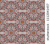 seamless geometrical pattern... | Shutterstock .eps vector #1112041457