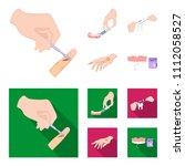 anesthetic injection  dental... | Shutterstock .eps vector #1112058527