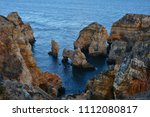 amazing and unique cliffs... | Shutterstock . vector #1112080817