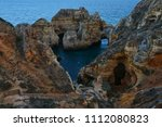 amazing and unique cliffs... | Shutterstock . vector #1112080823