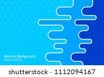blue colors abstract vector... | Shutterstock .eps vector #1112094167