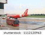 don mueang  bangkok   may  2018 ... | Shutterstock . vector #1112120963