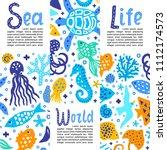 cutout marine style kids design ...   Shutterstock .eps vector #1112174573