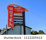 goodwood  ontario  canada  june ... | Shutterstock . vector #1112205413