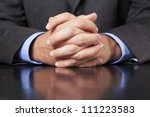a business man dressed in a... | Shutterstock . vector #111223583