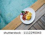 concept promotional morning... | Shutterstock . vector #1112290343