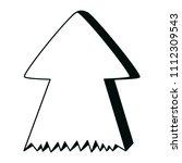line pictogram arrow up... | Shutterstock .eps vector #1112309543