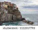 manarola  a small town in the... | Shutterstock . vector #1112317793