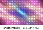 abstract multicolored football... | Shutterstock . vector #1112344763