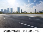 panoramic skyline and buildings ... | Shutterstock . vector #1112358743