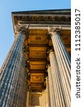 kazan cathedral colonnade in st ...   Shutterstock . vector #1112385017