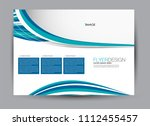 flyer  brochure  billboard... | Shutterstock .eps vector #1112455457