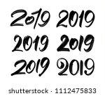 vector illustration  set of... | Shutterstock .eps vector #1112475833