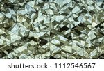 triangulated polygonal... | Shutterstock . vector #1112546567
