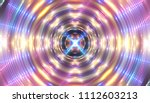 neon colored lights background. ... | Shutterstock . vector #1112603213