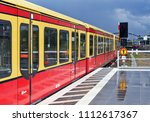 berlin  federal republic of... | Shutterstock . vector #1112617367