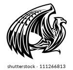 Heraldic Griffin Bird Mascot I...