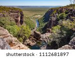 jim jim falls  kakadu national... | Shutterstock . vector #1112681897