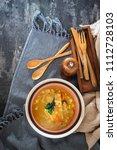bouillabaisse french fish stew... | Shutterstock . vector #1112728103