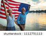 shot of a happy senior couple... | Shutterstock . vector #1112751113