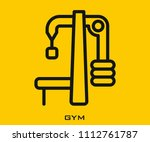 gym icon signs