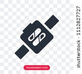 smartwatch vector icon isolated ... | Shutterstock .eps vector #1112827727