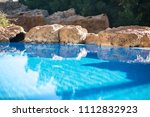 outdoor inground residential...   Shutterstock . vector #1112832923
